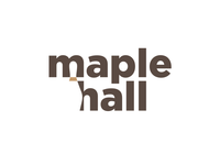 Maple Hall Bowling Alley Logo