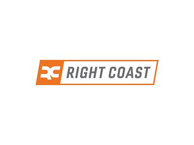 Right Coast Medical Logo medical equipment rc orange orthopedic medical