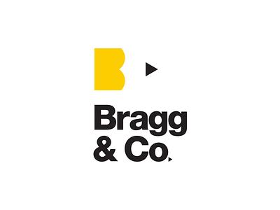 Bragg & Co. Logo butt pencil helvetica logo