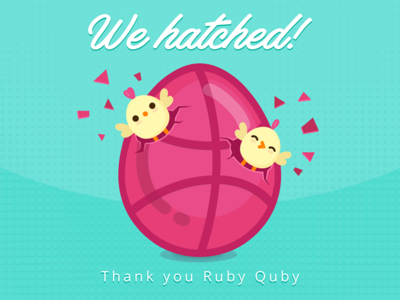 Thanks to Ruby Quby!