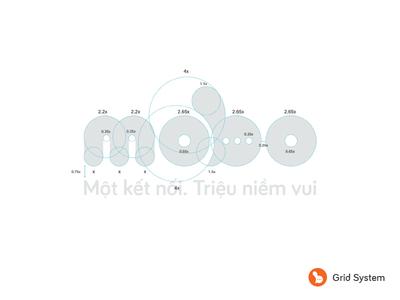 Mobo - New Grid System haitran vietnam rebrand new brand brand logo grid