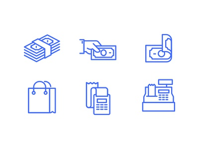 Cash Flow - Free Icon Set line finance website web ui psd icons icon freebie free flat app
