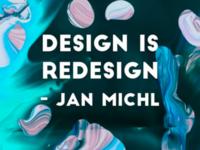 Design is redesign