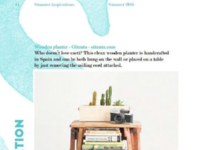 Layout for Travel Issue, The Design Pot