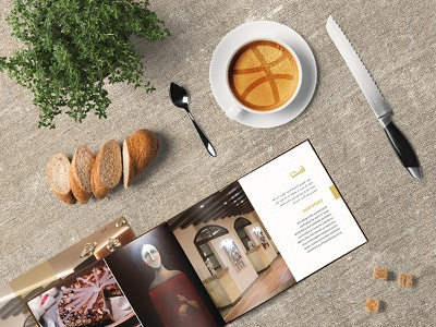 Helllo Dribbble! indesign printdesign print identity editorial coffee brochure branding booklet art