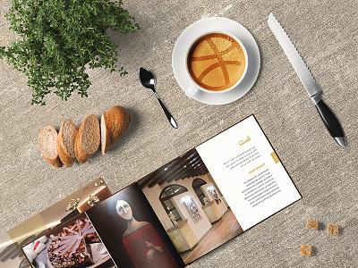 Helllo Dribbble! indesign printdesign print identity editorial coffee brochure branding booklet art