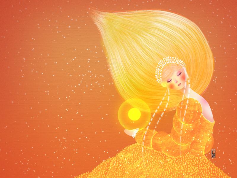 Lemonade fantasyillustration childrren book illustration girl illustration illustration