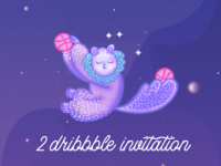 Available 2 dribbble invitation