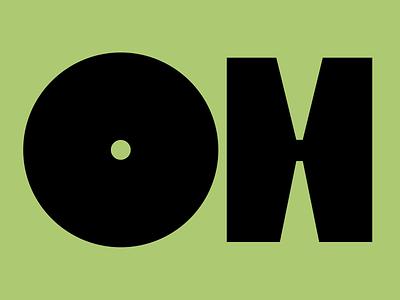 OH font design bold fontlab graphic design fonts illustration custom type logo type branding dribble design lettering font typography