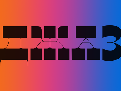 Jazz, typographic experiments. jazz fontlab illustraion custom type branding logo dribble design typo lettering type font typography