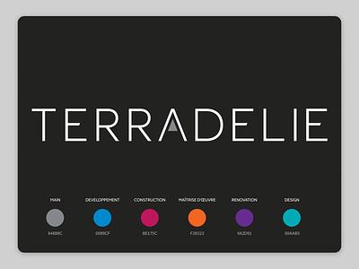 Terradelie logotype brading branding design brand identity brand design typogaphy logotype design visual visual identity visual design branding design type typography logos logo design logodesign logotype logo