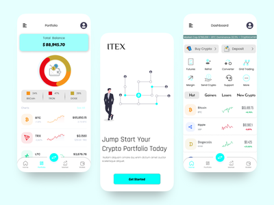 Crypto Trading App crypto currency trading crypto exchange app crypto trading app crypto currency app ux ui