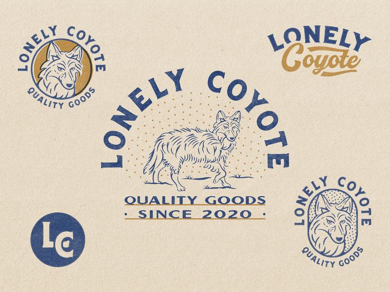 Lonely Coyote - Responsive Branding
