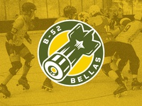 B-52 Bellas - Roller Derby Logo