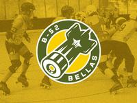 B-52 Bellas - Roller Derby Logo