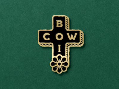 Cowboi Enamel Pin