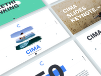 Cima Slides powerpoint keynote slides presentation google ui ux market me agency product
