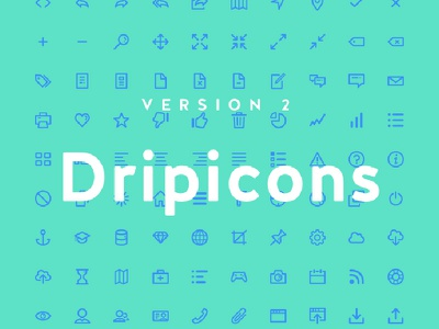 Dripicons Cover download wireframe fonts icons uikit me resources market premium ui freebies free