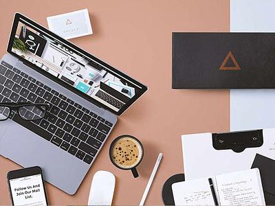 Branding Showcase Generator presentation scene premium showcase branding professional ui ux design mockup