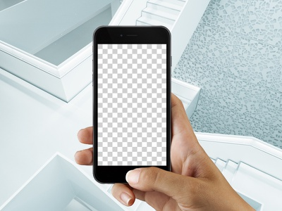 Iphone 6s Studio uikit resource marketme design ui mobile app presentation iphone mockup