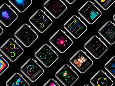 W1 UI Kit marketme customizable webdesign resource design apple uikit ux ui mobile app watch