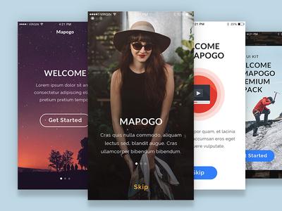 Mapogo Ui Kit marketme modern clean webdesign mobile app uikit design ux ui