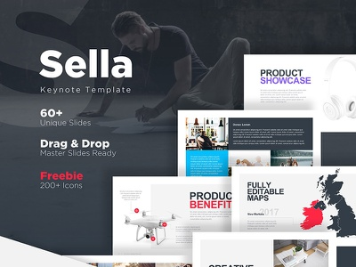 Sella Keynote template design marketme slides keynote color handy clean effective professional presentation