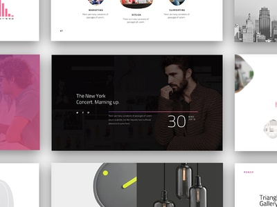 Power Presentation Template easy clear template design professional powerful slides keynote powerpoint presentation