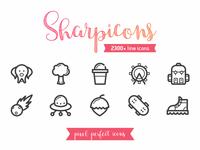Sharpicons