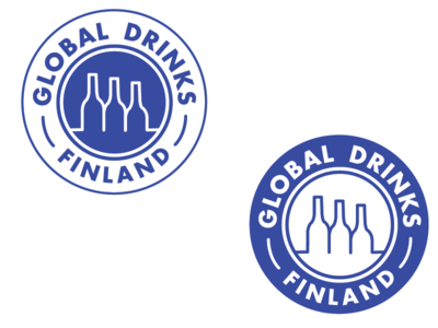 Global Drinks Finland Logo Re-design