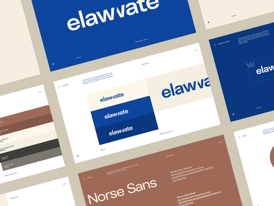Elawvate — Brand Guidelines identity system identity guidelines brand guidelines law firm legal law layers podcast elevate logotype logo identity branding