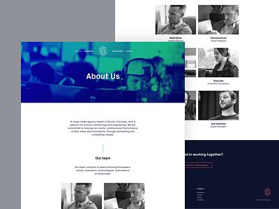Syntropy Studio — About   Desktop px grotesk technology science ux design ux ui