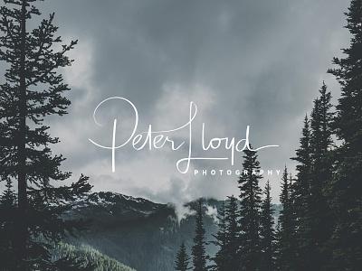 Peter Lloyd Photography Branding business card photography branding