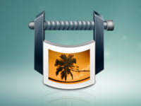 Slim photo app icon