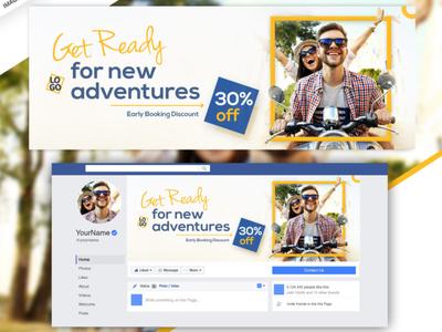 FREE Facebook Cover (PSD)