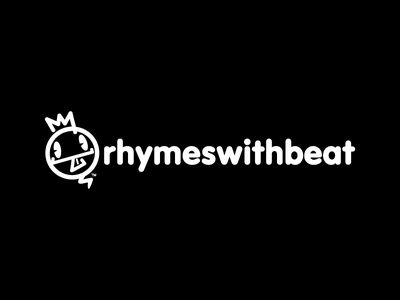 Rhymes With Beat brand design apparel logo streetwear clothing label clothing brand branding design logo