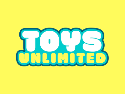 Toys Unlimited youtube character design cartoon cute website design website animal bear kids children toys