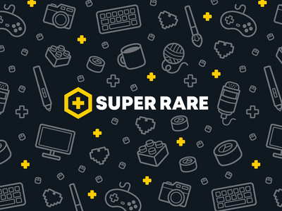 Super Rare™ apparel apparel design website design pattern vector team logo brand identity branding design branding gamer gaming streaming influencer streamer twitch super rare