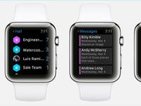 Hall on Apple Watch