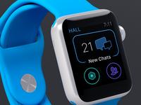 Hall Apple Watch