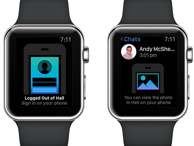 Apple watch empty