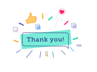 👋Hai, thank you for helping me grow illustration email