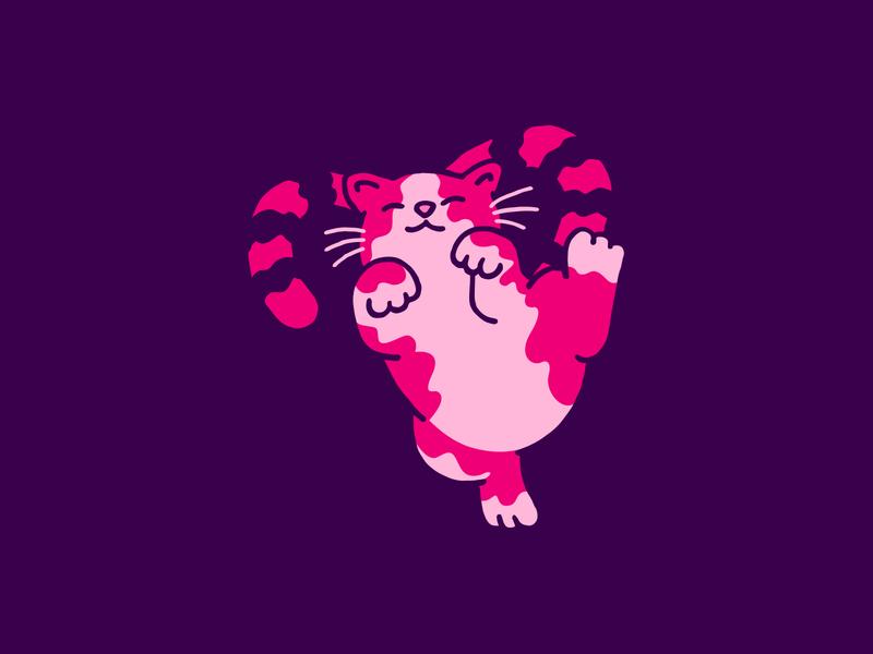 Valentine's Cat sketchy doodle kitten valentine card valentines day valentines heart vector art illustration cat