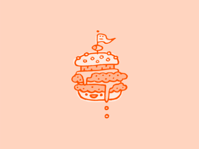 Burger food dude smile cheese man guy dude happy double illustration food cheeseburger burger