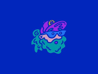 Me! profile pic cartoon illustration icon branding slime me portrait self portrait doodle sketch vector logo illustration