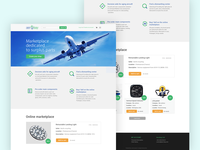 Home page / Landing Page