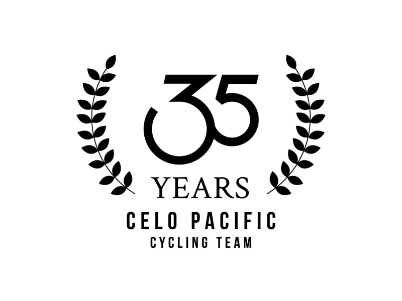 Celo Pacific Cycling Team dribbblers designer logo design create creative branding logo art design graphic design art direction