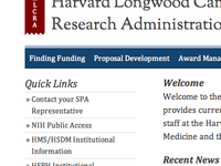 Harvard Longwood Campus Research Administration