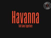 Havanna - Tall sans