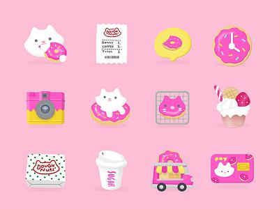 Soondooboo's Donuts Icon Pack desert sugarcat icons